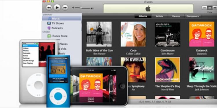 Apple vend 25% de la musique aux Etats-Unis