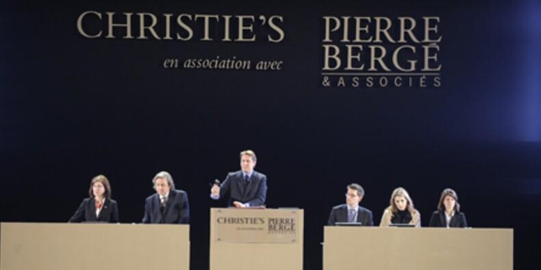 Bergé met en vente les objets intimes de la collection Yves Saint-Laurent