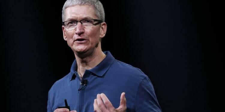 Chute vertigineuse du salaire du patron d'Apple