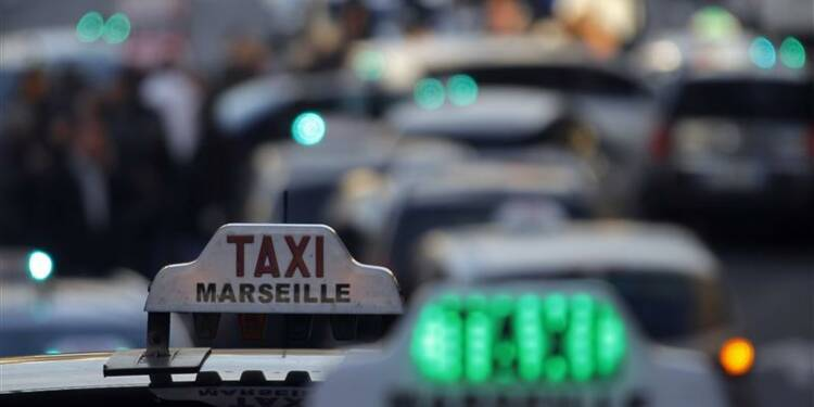La grève des taxis très suivie dans toute la France