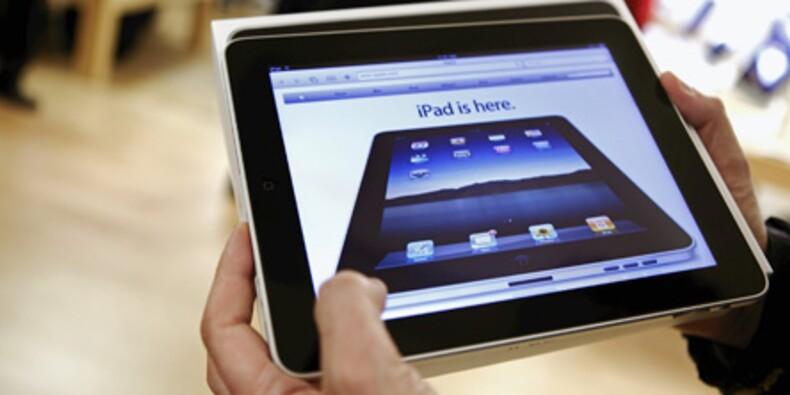 L'iPad s'invite au bureau