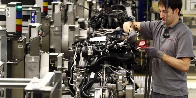 Timide rebond de la production industrielle en Allemagne