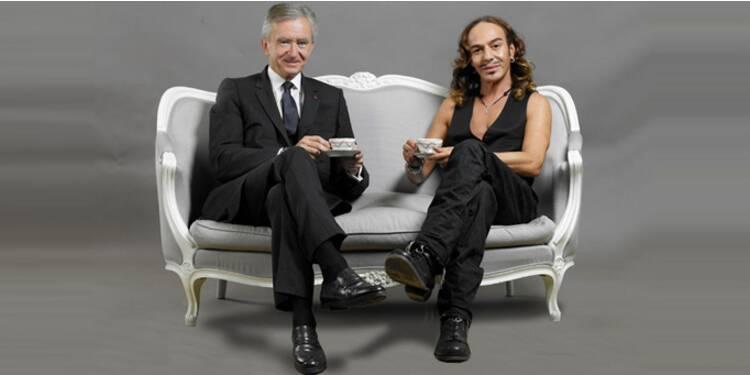 Quand John Galliano et Bernard Arnault prenaient le thé ensemble