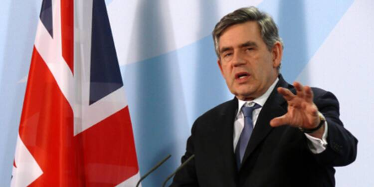Gordon Brown s'oppose à Sarkozy sur la question des bonus