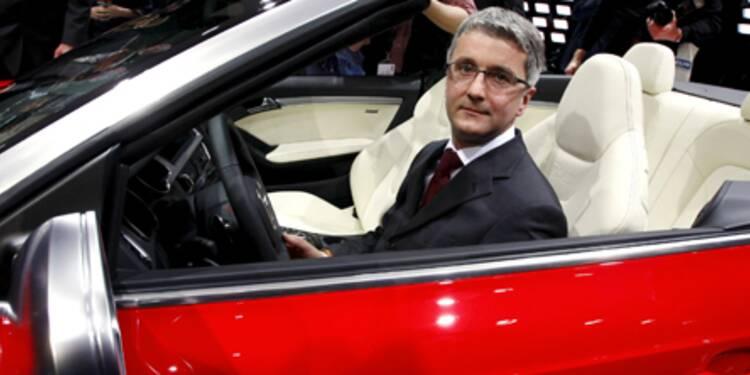 """Rupert Stadler, Président d'Audi : """"Nous vendrons au moins 900.000 voitures en 2009"""""""