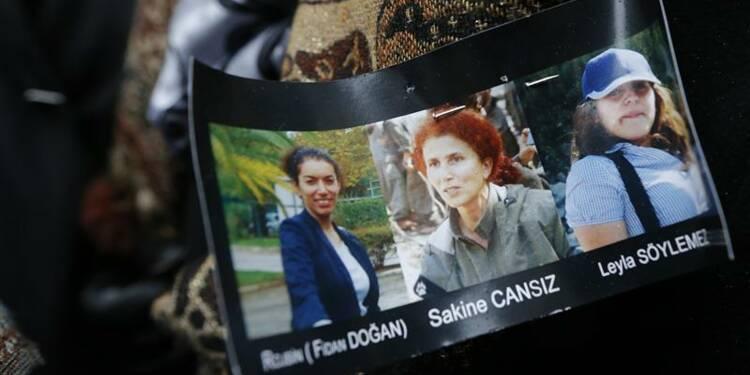 Dernier hommage aux trois militantes kurdes assassinées