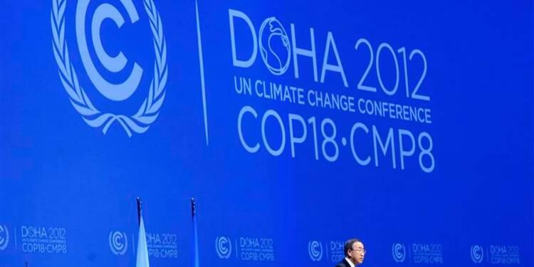 """""""L'anormal devient la norme"""", déclare Ban Ki-moon à Doha"""