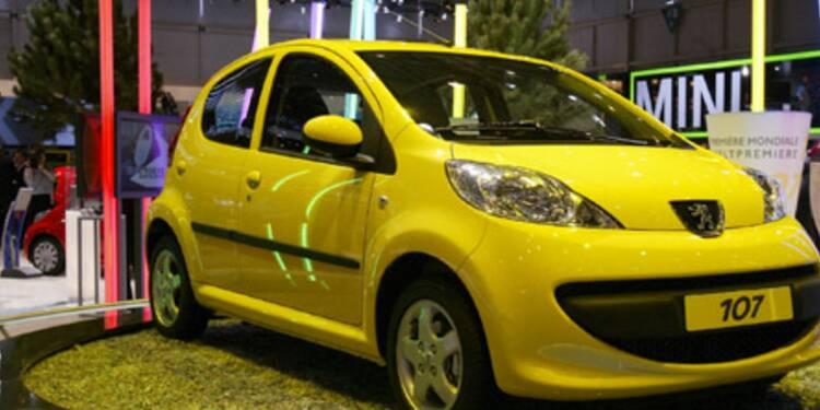 PSA rappelle près de 100.000 Peugeot 107 et Citroën C1