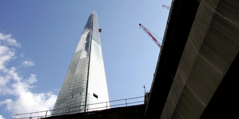 Londres inaugure la plus haute tour d'Europe
