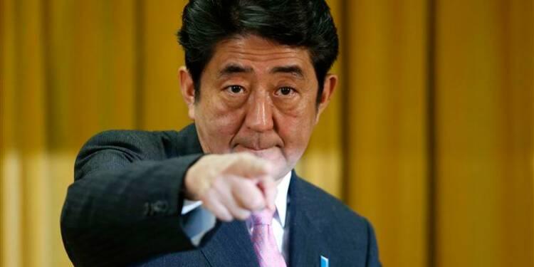 Shinzo Abe demande un objectif d'inflation de 2% au Japon