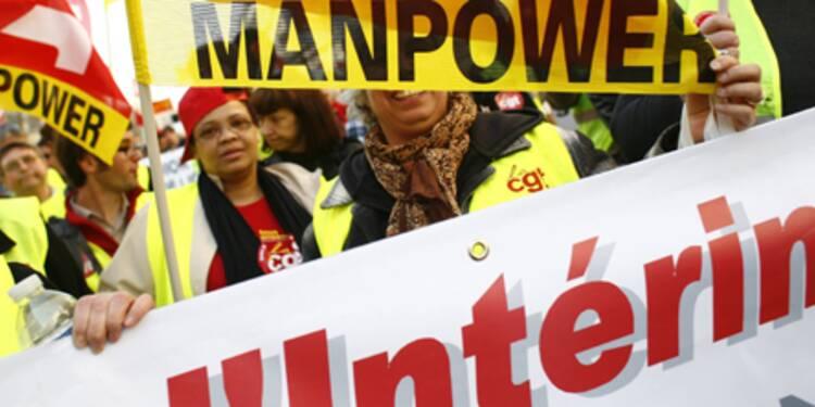 Emploi intérimaire : la reprise continue mais sans répercussion sur le chômage