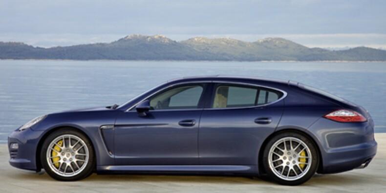 Porsche a produit 10.000 exemplaires de sa nouvelle Panamera
