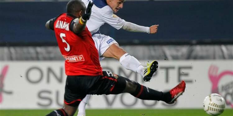 Coupe de la Ligue: Rennes bat Troyes et va en demie
