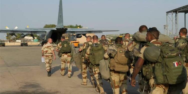 Hollande confiant dans la réussite de l'opération au Mali