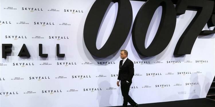 Skyfall, le dernier James Bond, affole le box-office mondial