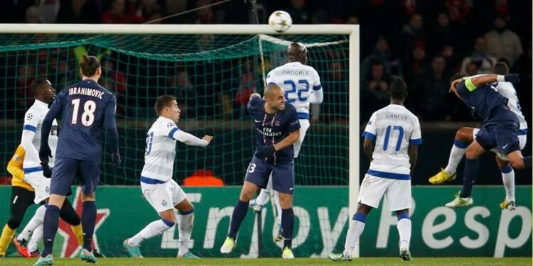 Ligue des champions: le PSG grille la politesse à Porto