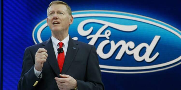 """#Exclusif # Alan Mulally, P-DG de Ford : """"Pour l'instant, la voiture électrique n'a pas de sens, économiquement parlant"""""""