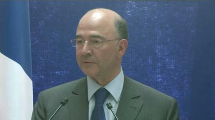 """Pour Moscovici, """"la dette publique est un ennemi"""" pour la France"""