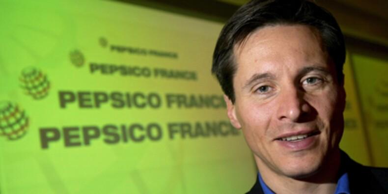 Vincent Prolongeau, DG de PepsiCo France, mouille le maillot