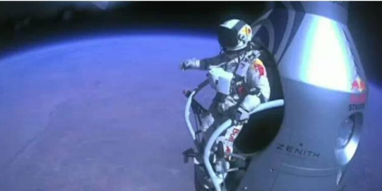 Le saut de Felix Baumgartner, opération marketing la plus aboutie de Red Bull