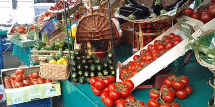 Les prix des fruits et légumes repartent à la hausse