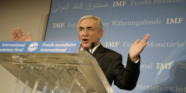 Strauss Kahn redoute une reprise sans emploi en Europe
