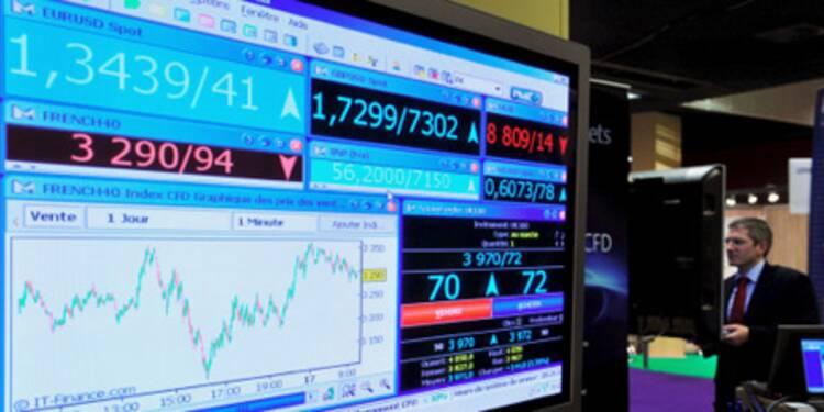 Le CAC 40 redresse la barre, rebond attendu à Wall Street