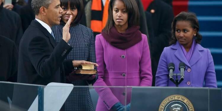 Barack Obama a prêté serment