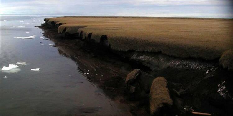 Le dégel du permafrost pourrait accentuer le réchauffement climatique