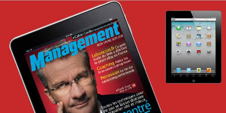 Découvrez l'appli iPad de Management