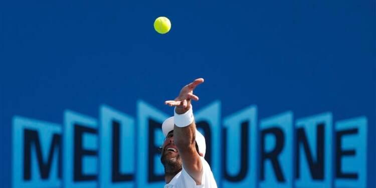 Open d'Australie: Jo-Wilfried Tsonga accède au troisième tour