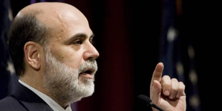 Les perspectives de l'économie américaine s'améliorent assure Ben Bernanke