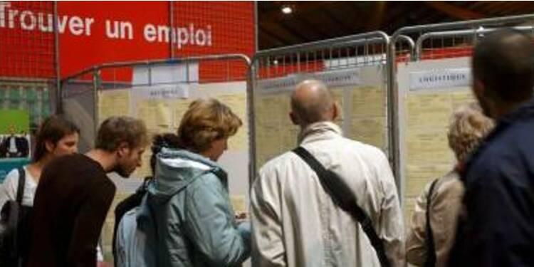 Léger sursaut du marché de l'emploi en février