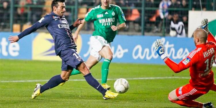 Coupe de la Ligue-: Saint-Etienne élimine le PSG aux tirs au but