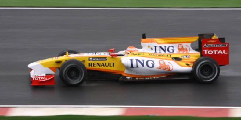 Les sponsors de Renault F1 désertent