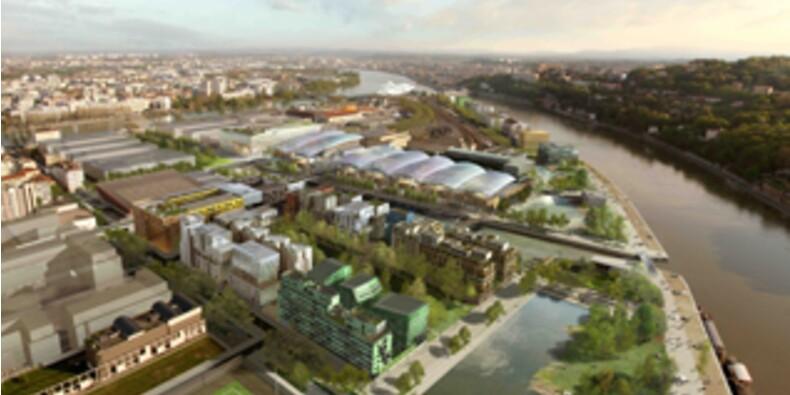 A Lyon, le nouveau centre-ville pousse entre deux eaux