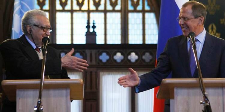 L'émissaire Lakhdar Brahimi est à Moscou pour évoquer la Syrie