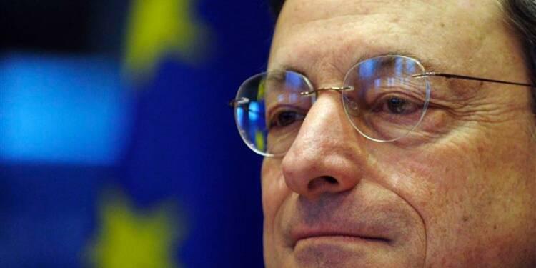 Mario Draghi salue l'accord sur la supervision bancaire