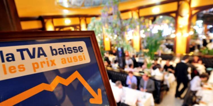 "Sarkozy ne reviendra ""jamais"" sur la baisse de la TVA dans la restauration"