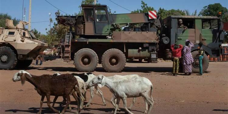 Les soldats français et maliens reprennent Diabali