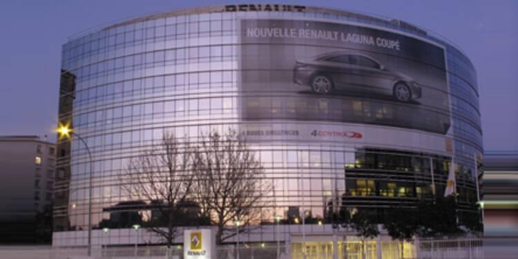 Renault anticipe un bon premier semestre 2010