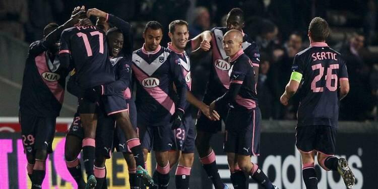 Ligue Europa: Bordeaux finit en beauté