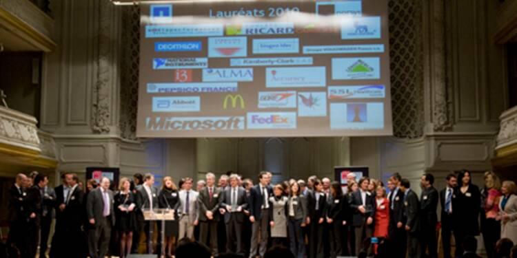 Les 25 entreprises où il fait bon travailler