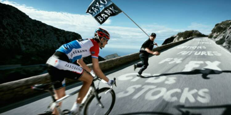 """""""Un podium n'amène pas de clients, mais le Tour de France permet d'asseoir la marque Saxo Bank"""""""
