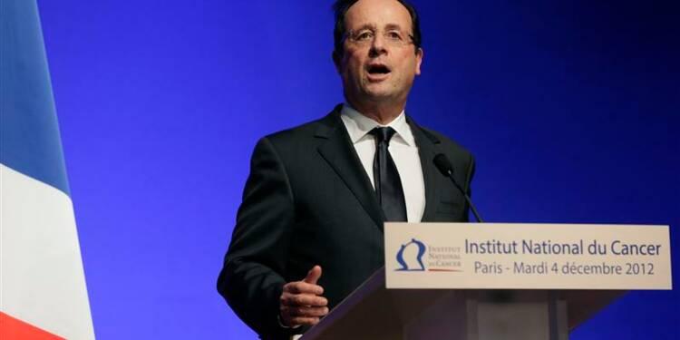François Hollande annonce un nouveau Plan cancer pour 2014