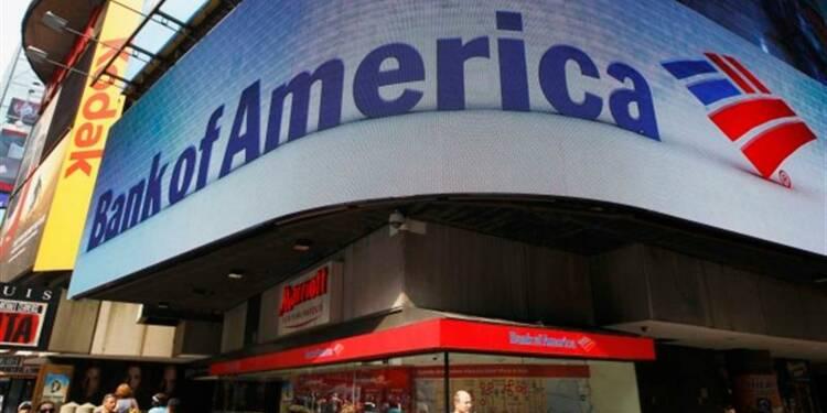 Chute du résultat de Bank of America au 4e trimestre