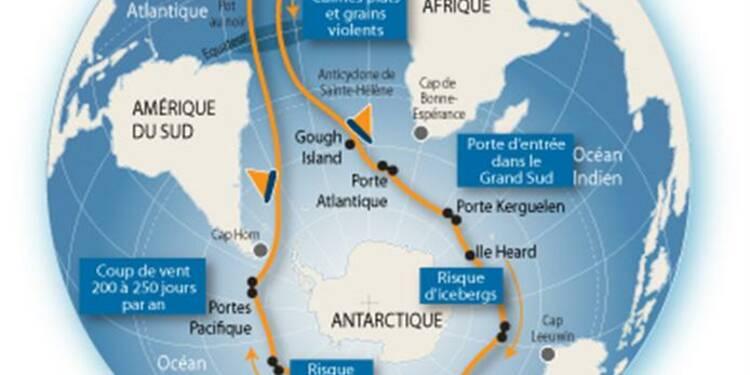 Vendée Globe: François Gabart vire le Horn dans un temps record