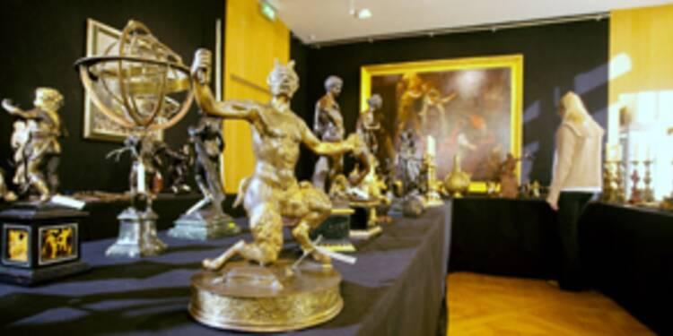 Succès inattendu pour la vente d'art Bergé-Saint Laurent
