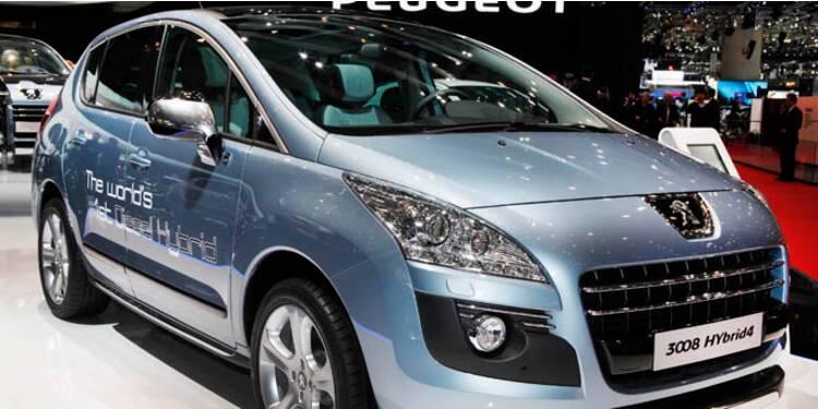 Peugeot lance la première voiture diesel hybride