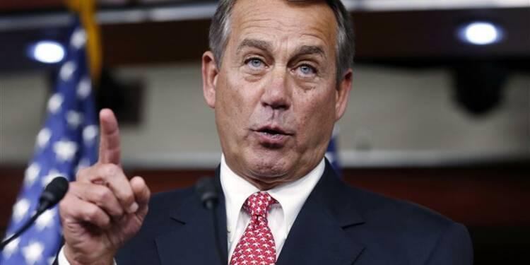 Le républicain Boehner serait prêt à accepter une hausse d'impôts aux Etats-Unis